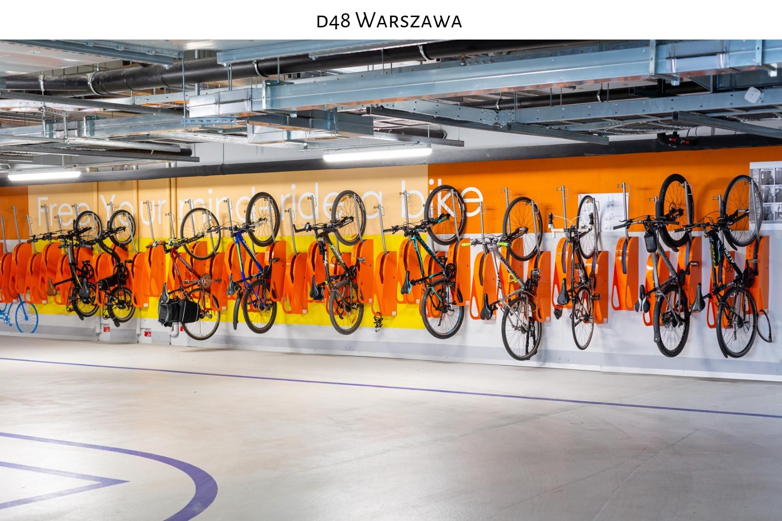 parking rowerowy d48 warszawa