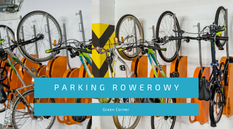 parking rowerowy green corner