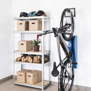 Wieszak na rower BikeUp wnętrze aranżacja