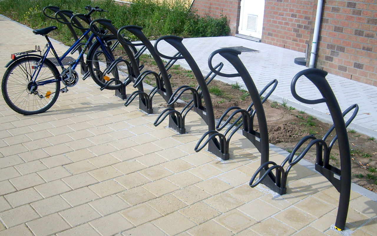 Nowoczesne stojaki na rowery